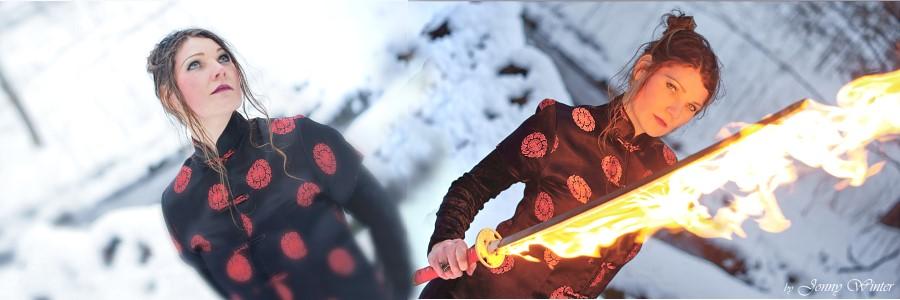 Katari und Feuer